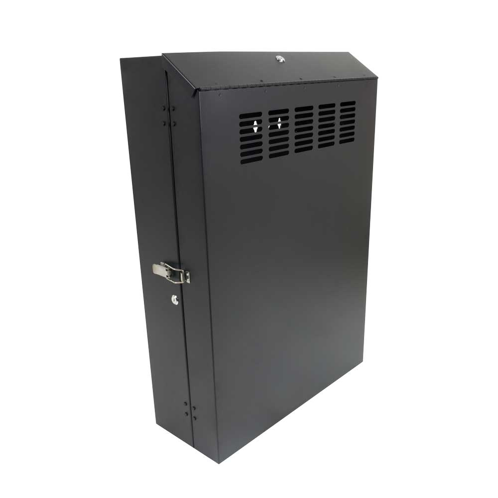 "5U Vertical Wall Mount Rack, 30"" deep"