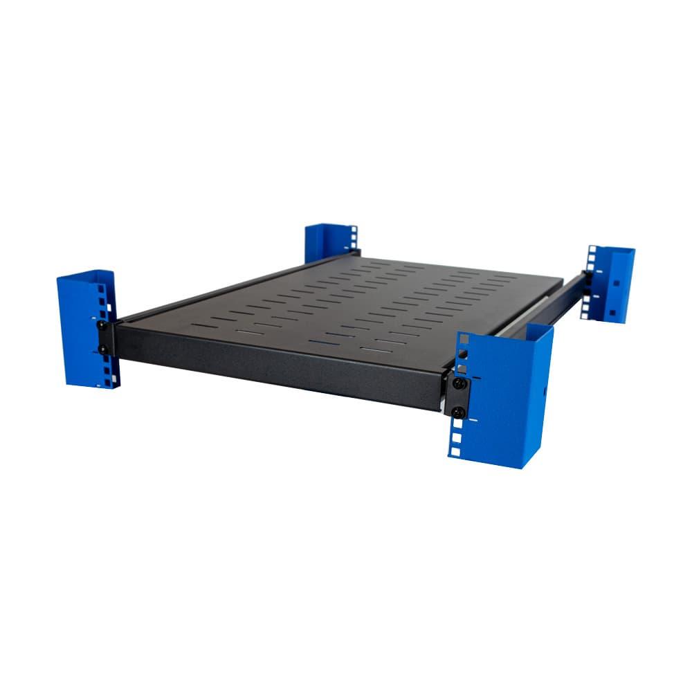 1U Adjustable 650mm Sliding Shelf