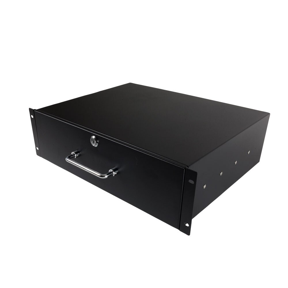 LSR Rack Mount Drawer with Lock and Key