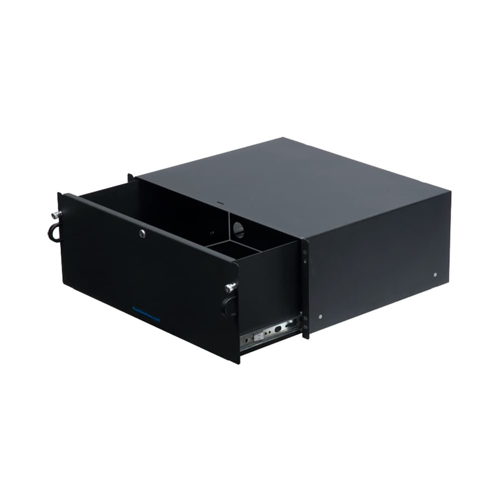 4U Lockable Rackmount Drawer
