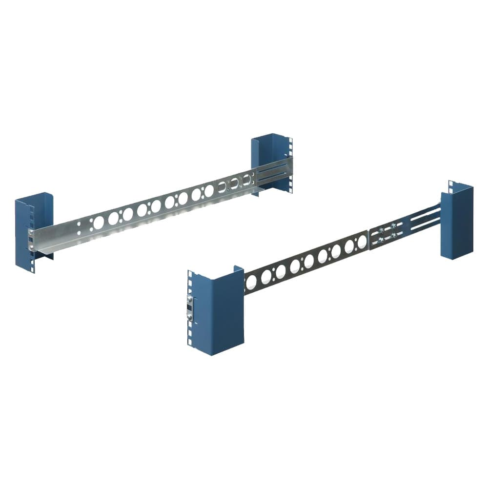 "1U Universal 20"" Rack Rails (Shallow)"