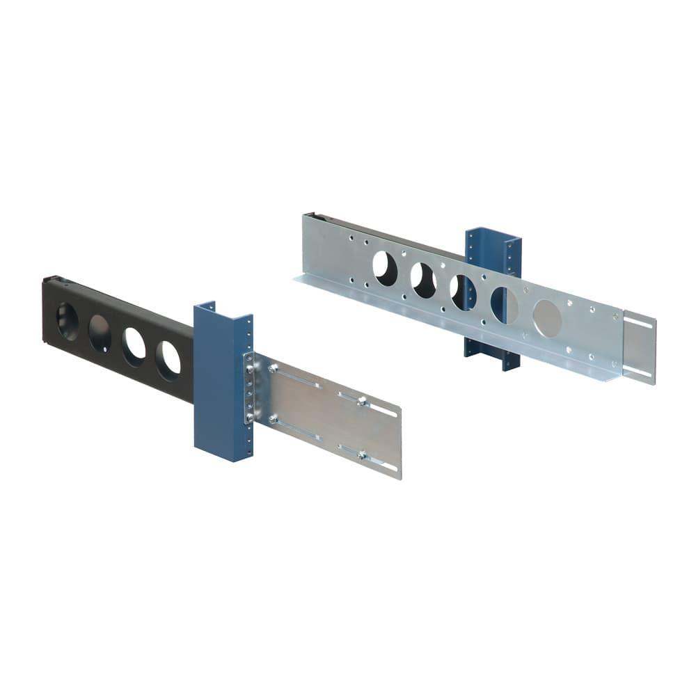 2U 2 Post Universal Rack Rail