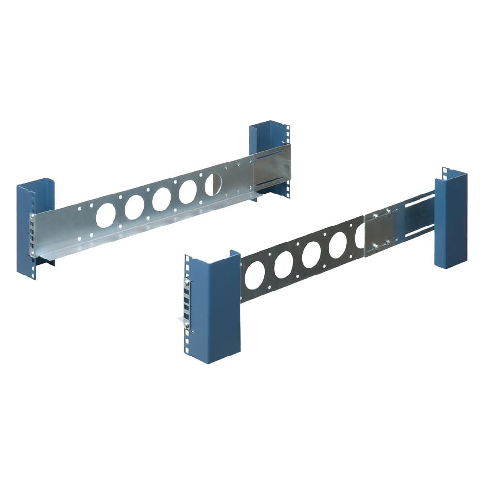 "2U Universal 20"" Rack Rails (Shallow)"