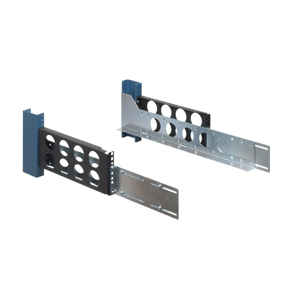 3U 2 Post Universal Rack Rails