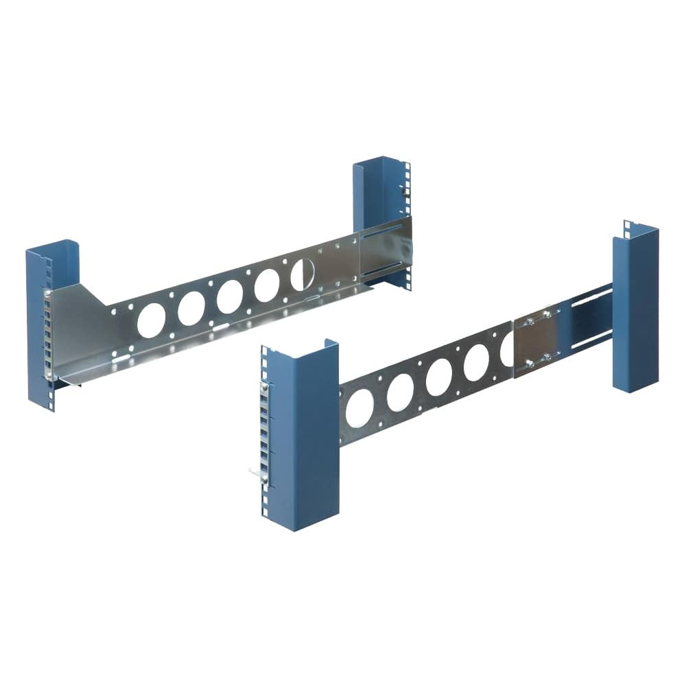 "3U Universal 20"" Rack Rails (Shallow)"