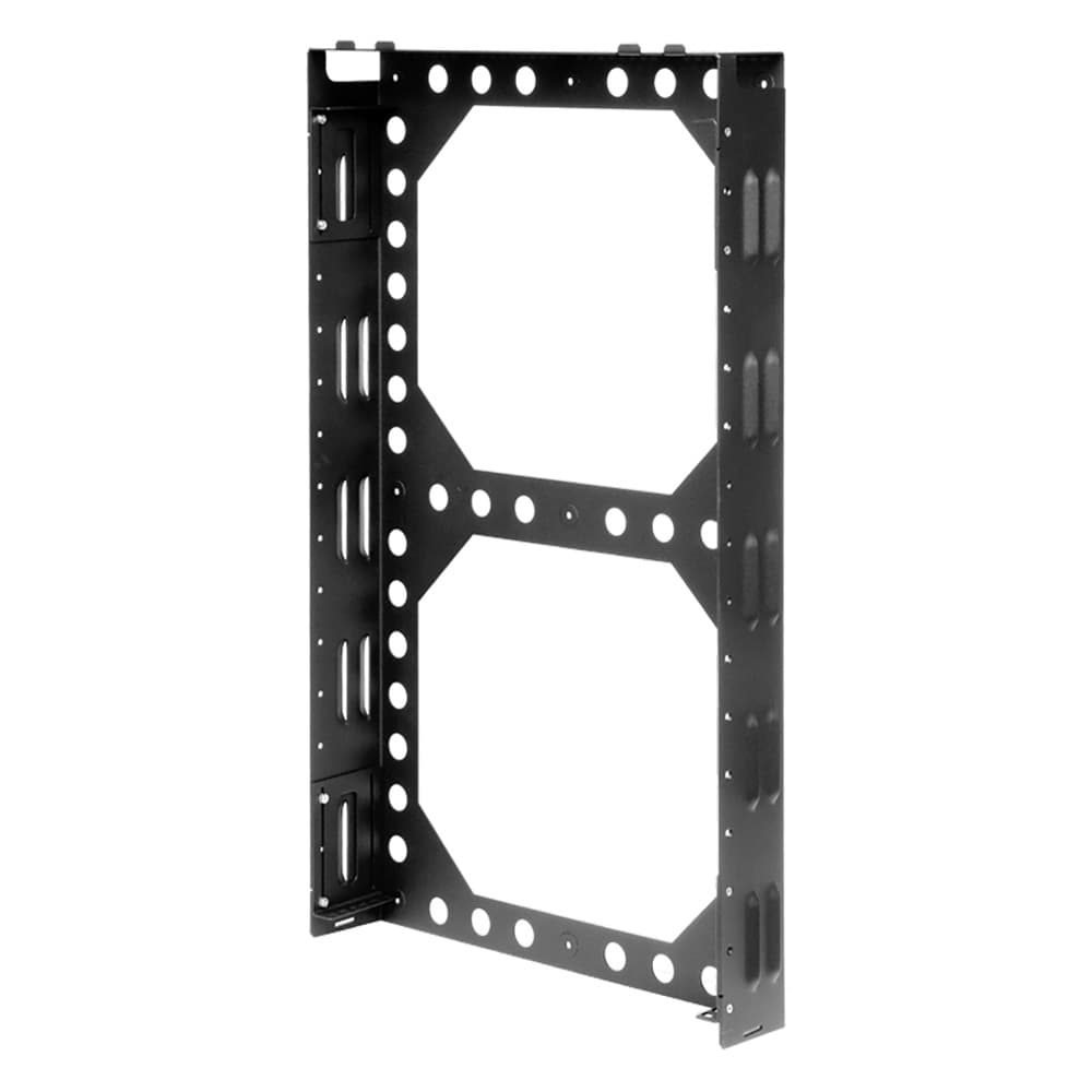 2U Secure Wallmount Rack